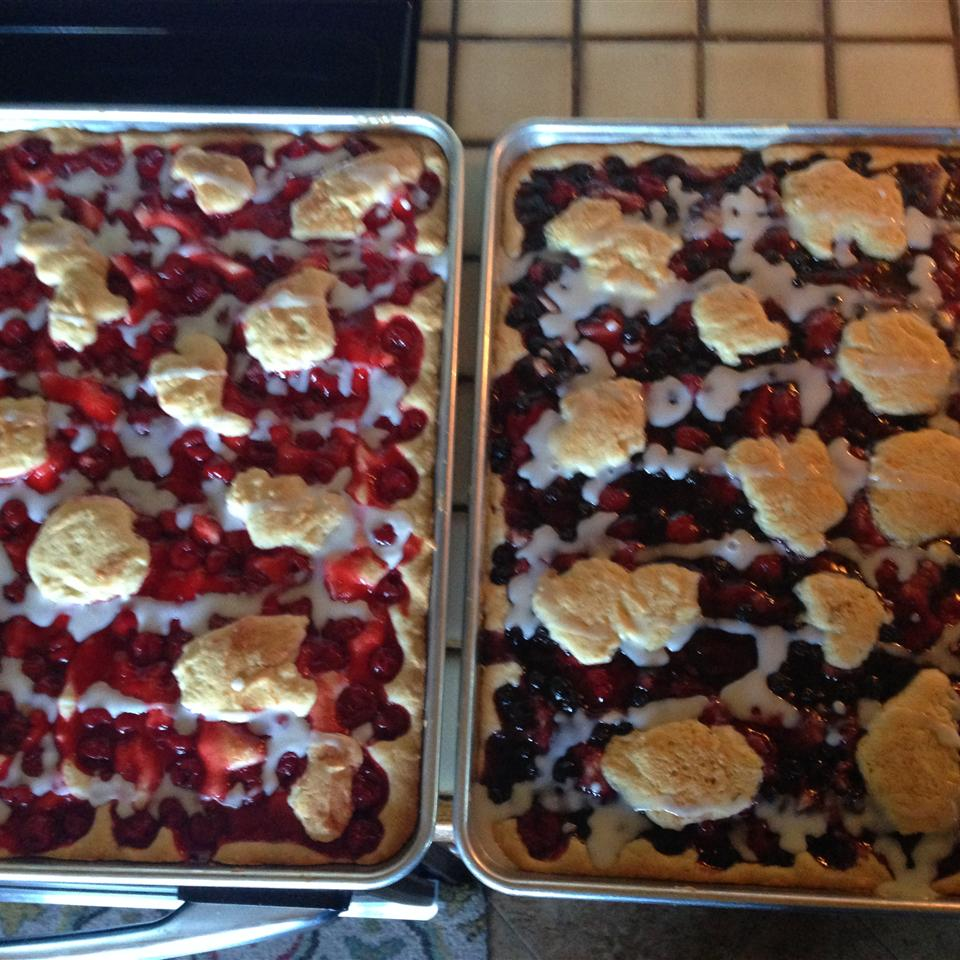 Quick and Easy Cherry Bars Kelly Burke