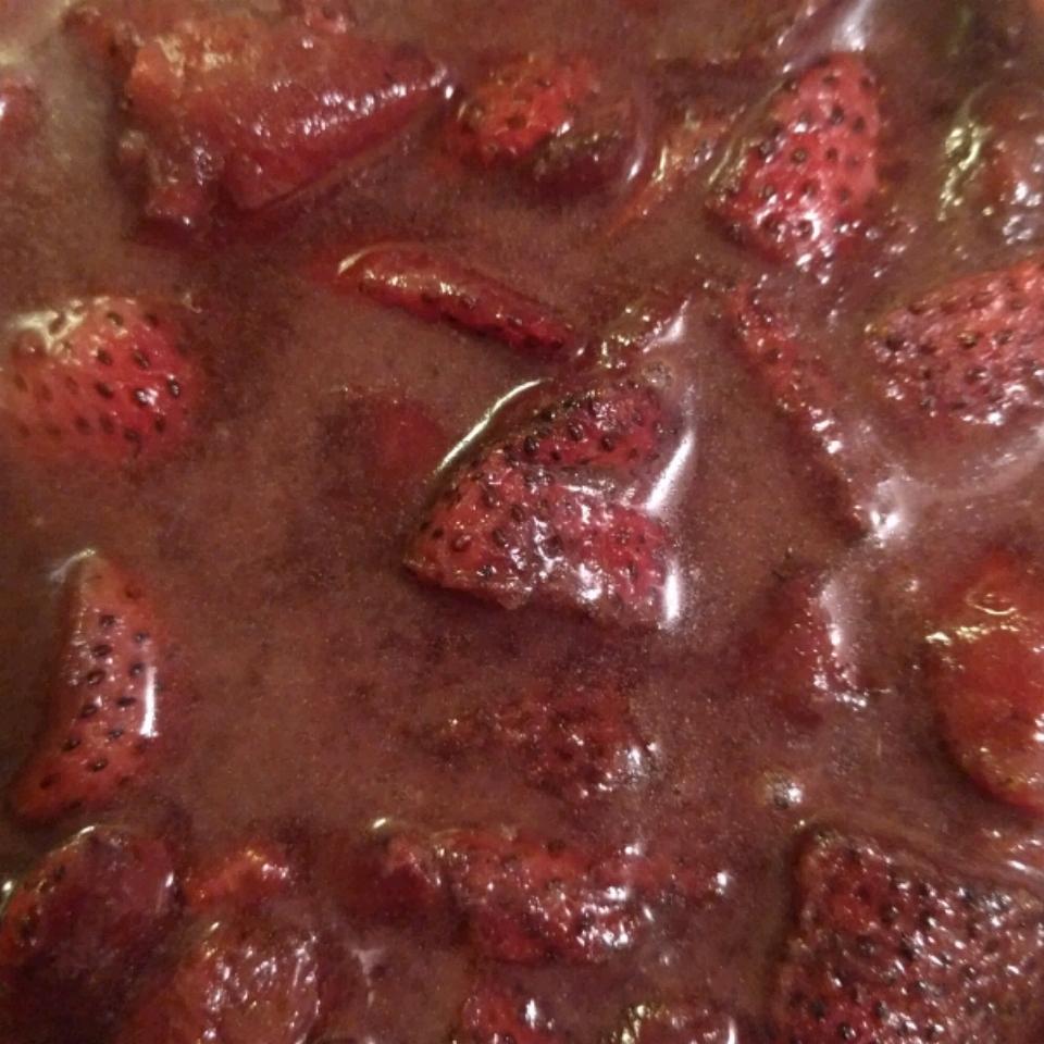 Balsamic Strawberries carmicjam