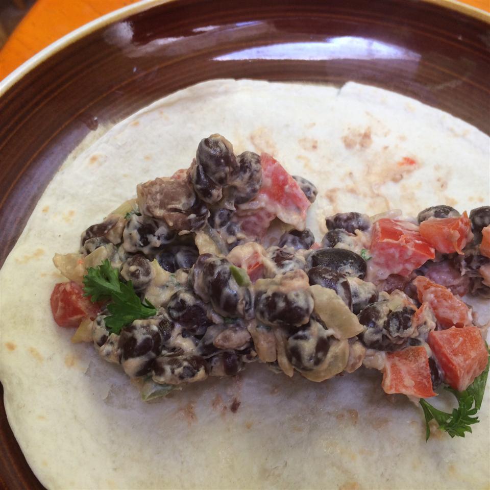 Delicious Black Bean Burritos