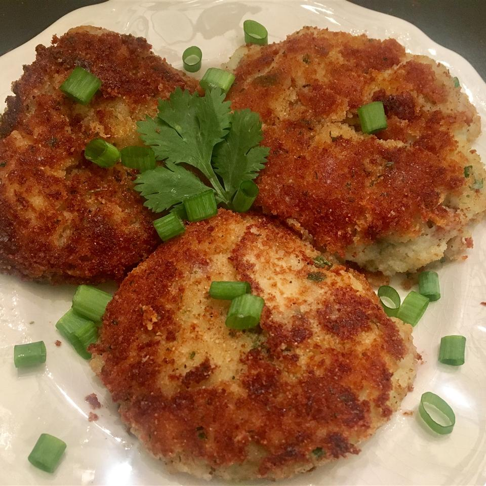 Bacon and Blue Cheese Potato Pancakes Web Spinner