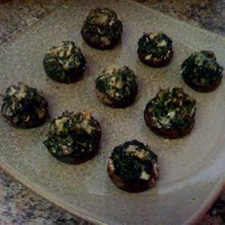 Stuffed Mushrooms with Spinach Dana C.