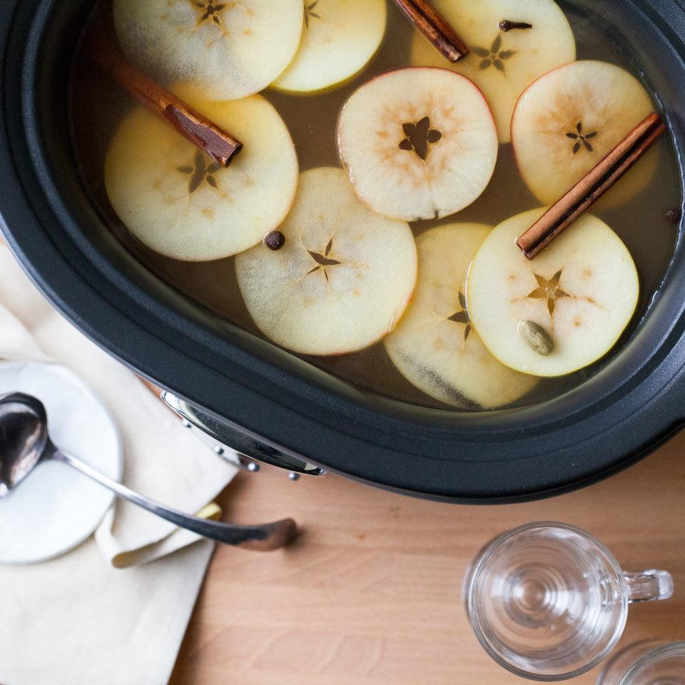 Slow-Cooker Hot Cider with Brandy Devon O'Brien