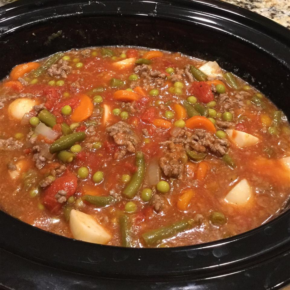 Delicious Vegetable Beef Soup