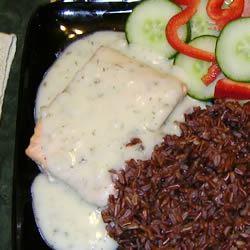 Salmon in Lemon-Dill Sauce Mary-Lou