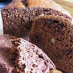 Whole Wheat Chocolate Banana Bread abapplez