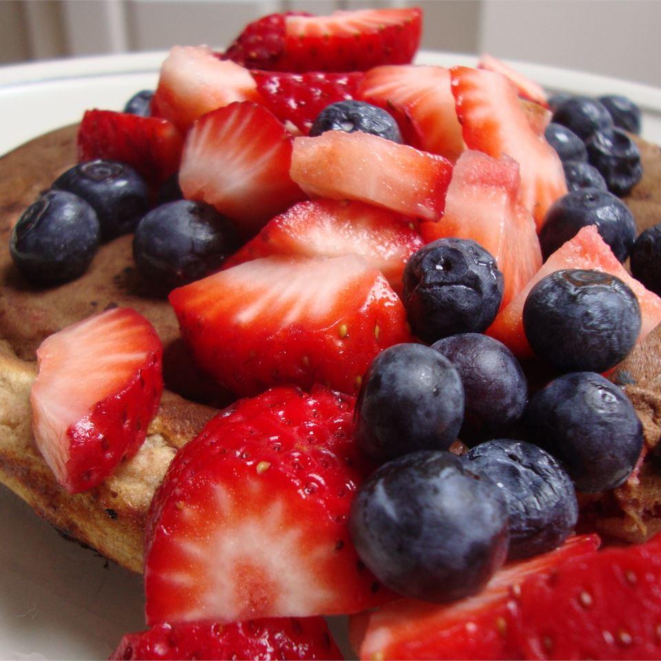 Strawberry Vanilla Pancakes kristykk