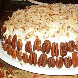 Coconut Pecan Cake Feleshia Wright