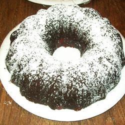 The Easiest Chocolate Pudding Cake Feleshia Wright