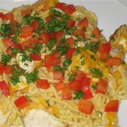 Chicken or Turkey Tetrazzini gatescla