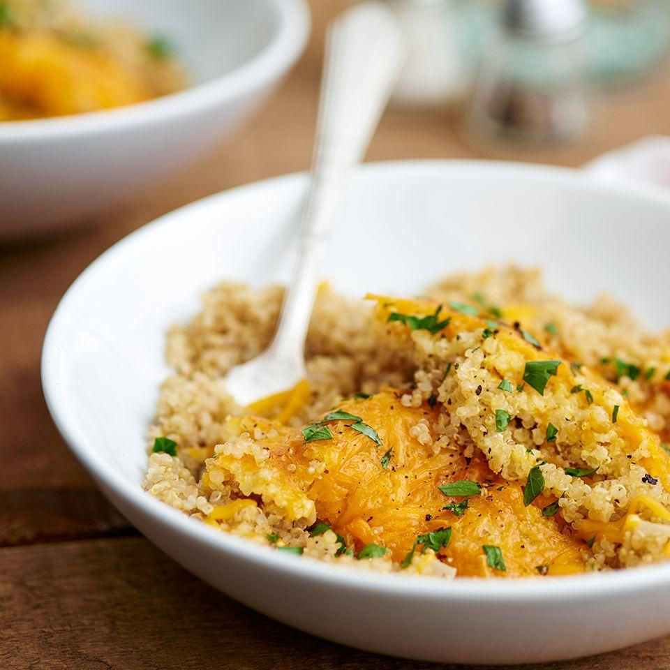 Easy Quinoa Mac And Cheese