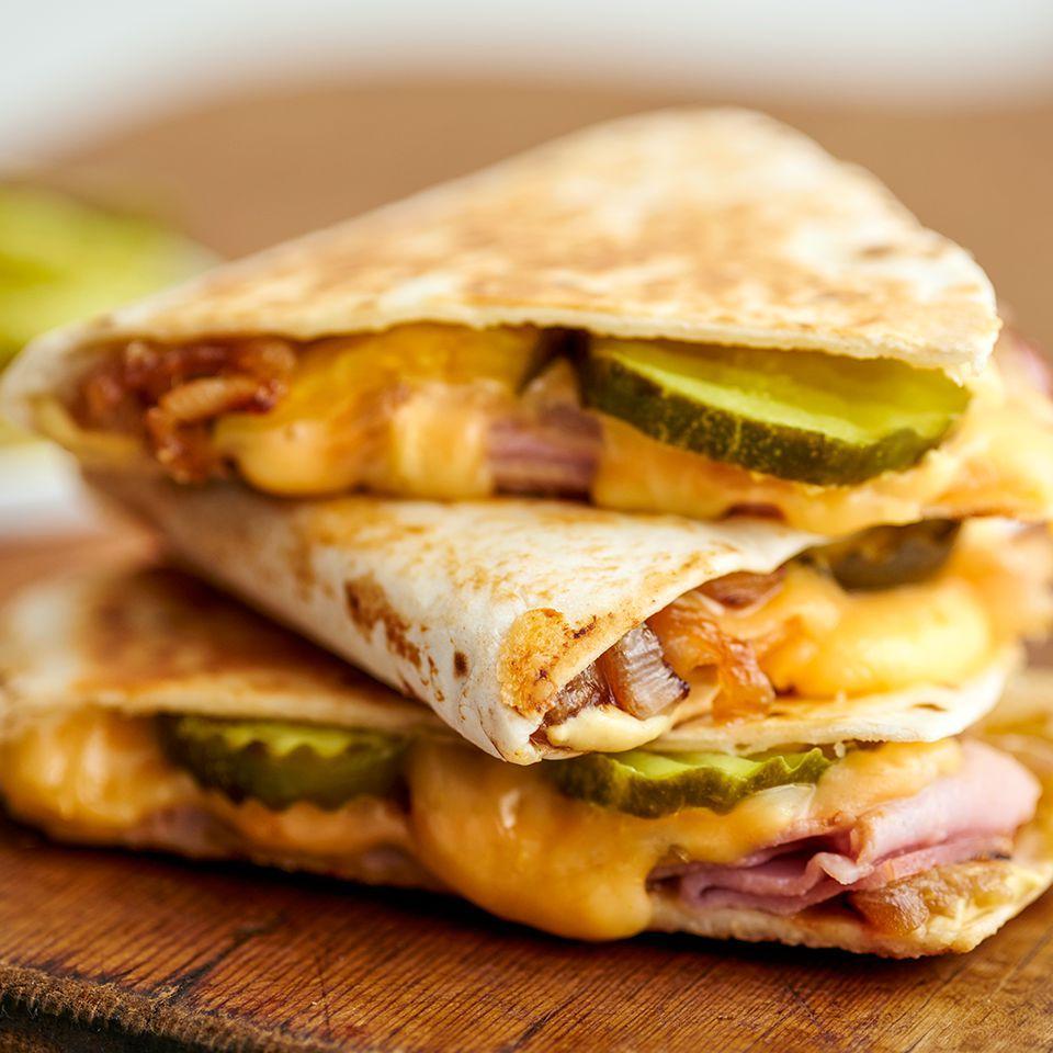 Ham & Gouda Quesadilla