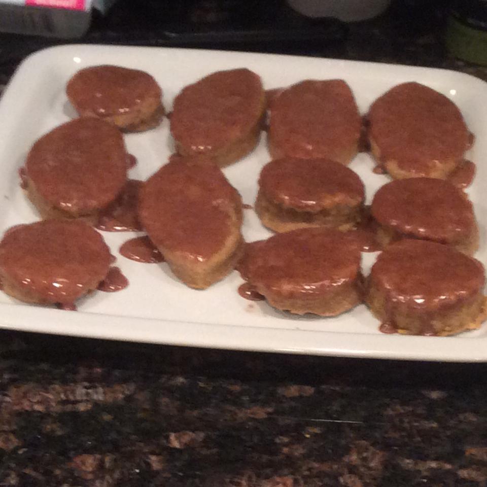 Iced Spiced Pumpkin Spritz Cookies Panic!Evie 365