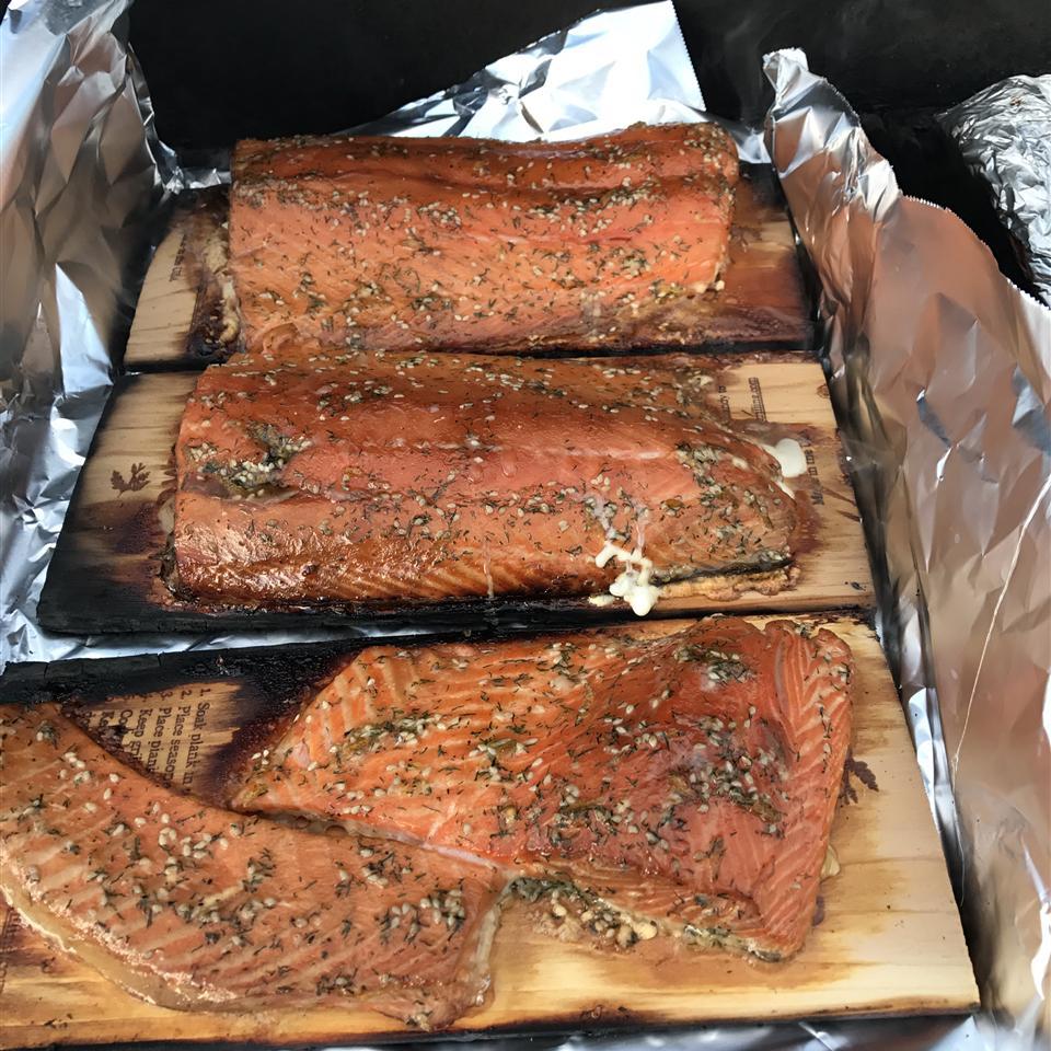 Cedar Plank Salmon Robert Ebert