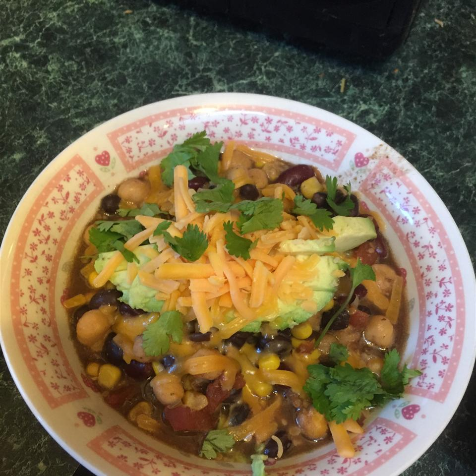 Quick and Easy Chicken Chili spange