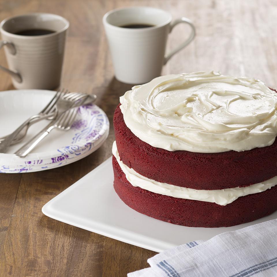 So Moist Red Velvet Cake