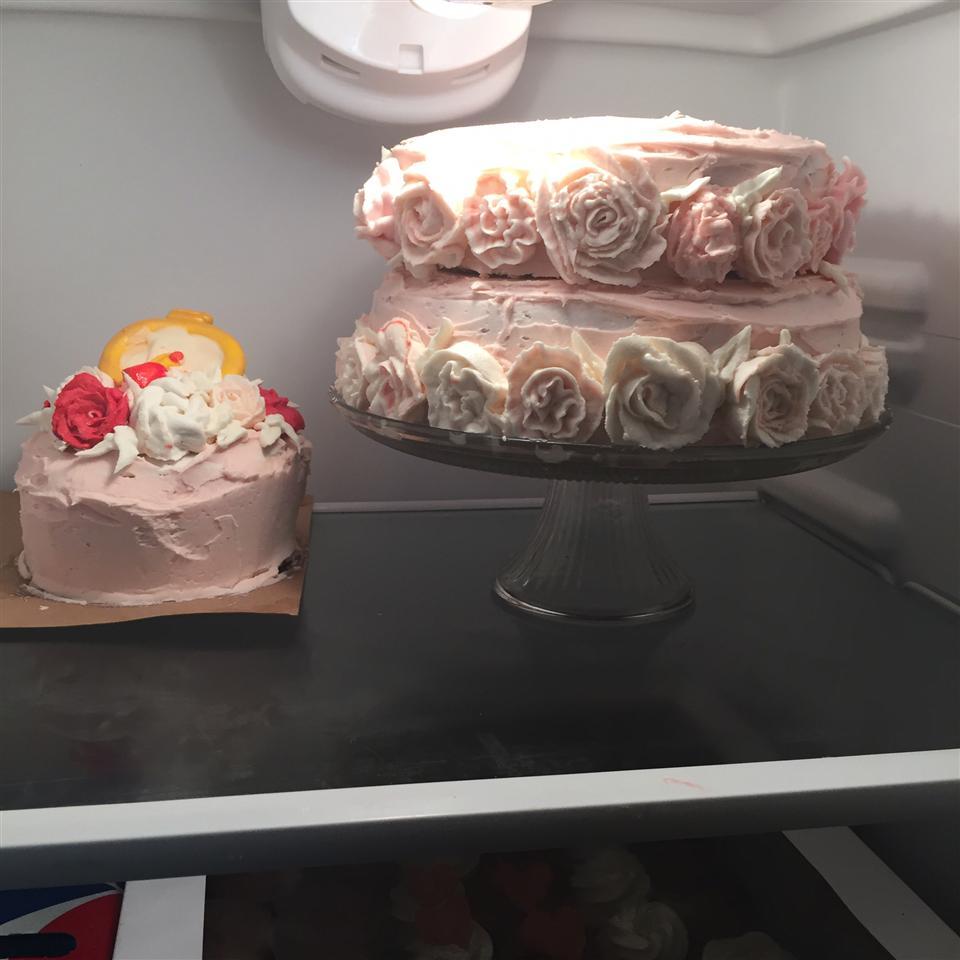 White Wedding Cake Paige Hooper