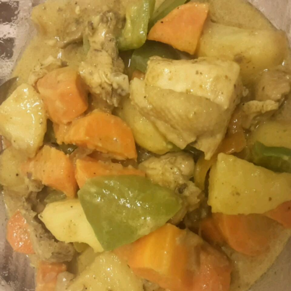 Thai Chicken Curry in Coconut Milk jean claire dean