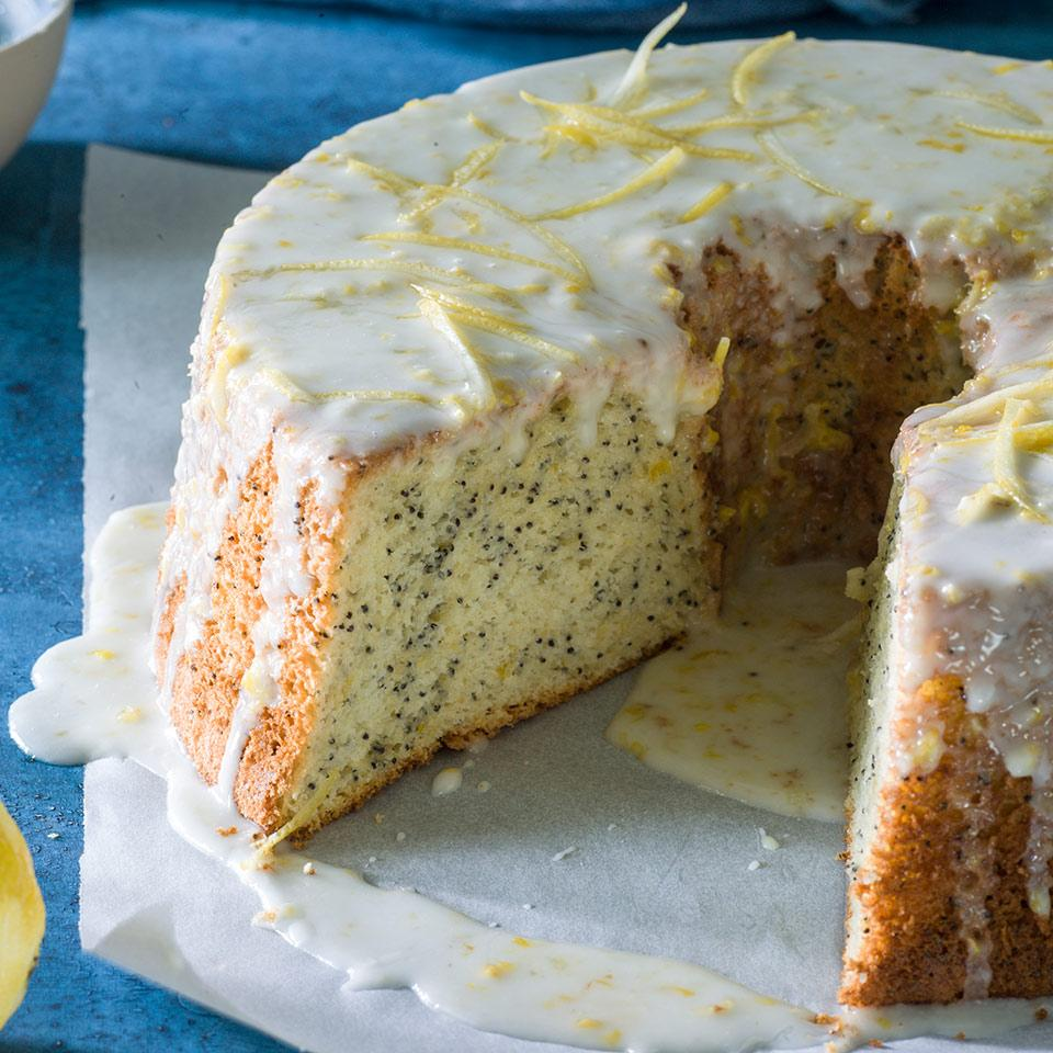 Lemon Poppy Seed Chiffon Cake EatingWell Test Kitchen