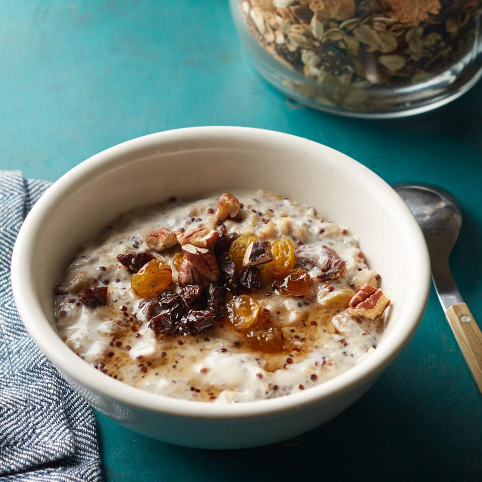 Quinoa & Chia Oatmeal Mix EatingWell Test Kitchen