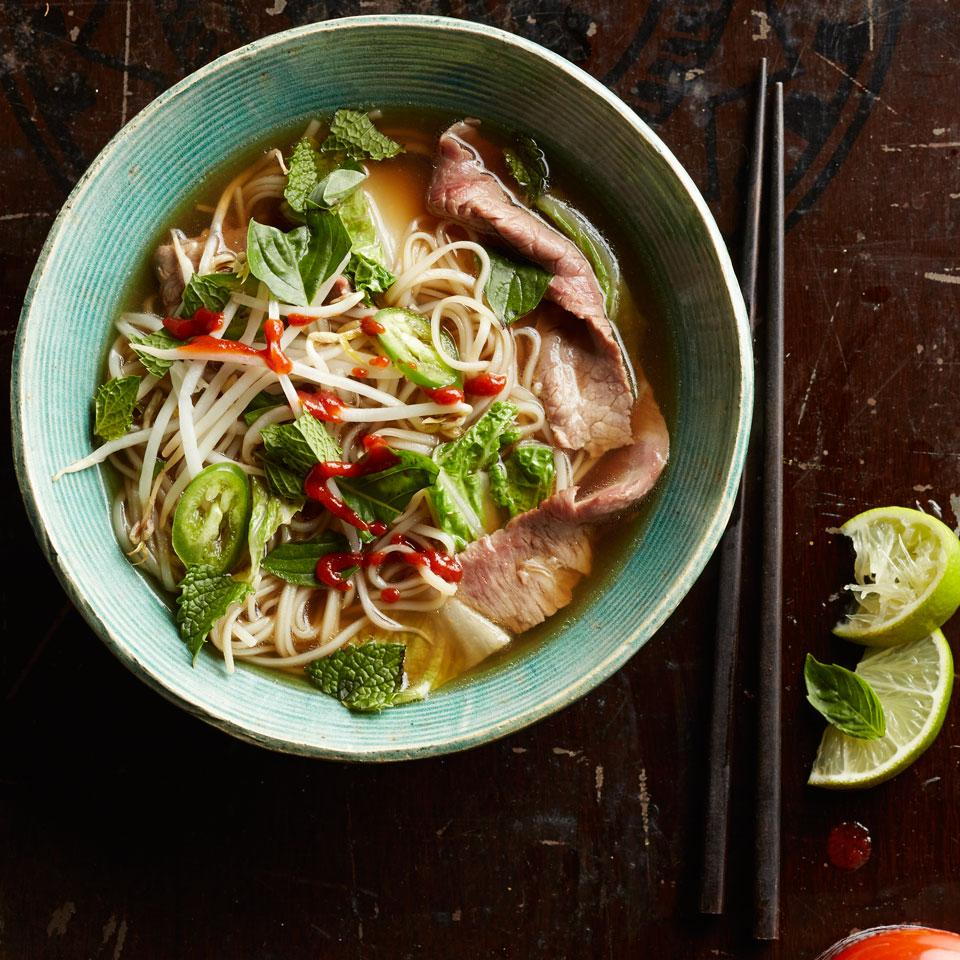 Quick Beef & Napa Cabbage Pho Breana Killeen