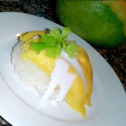 Sweet Rice and Mango Lydia