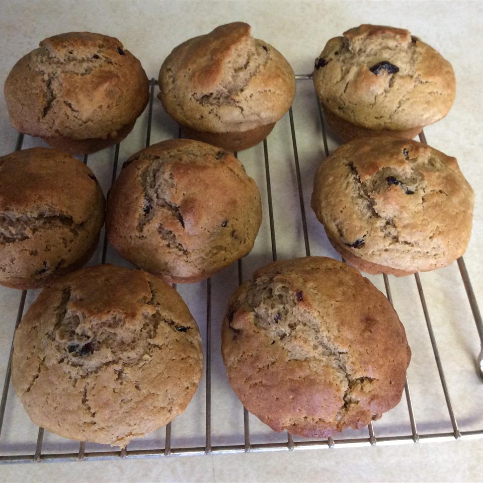 Cranberry Pumpkin Muffins Judi221