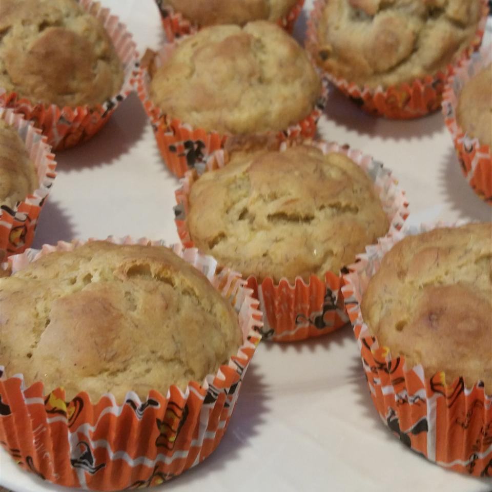 Banana Muffins I Kathy Morrissey