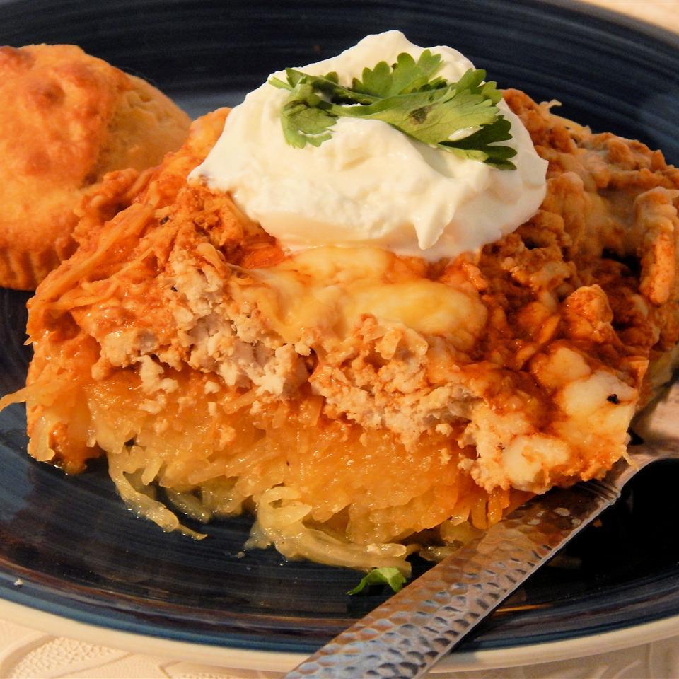Enchilada Spaghetti Squash Casserole