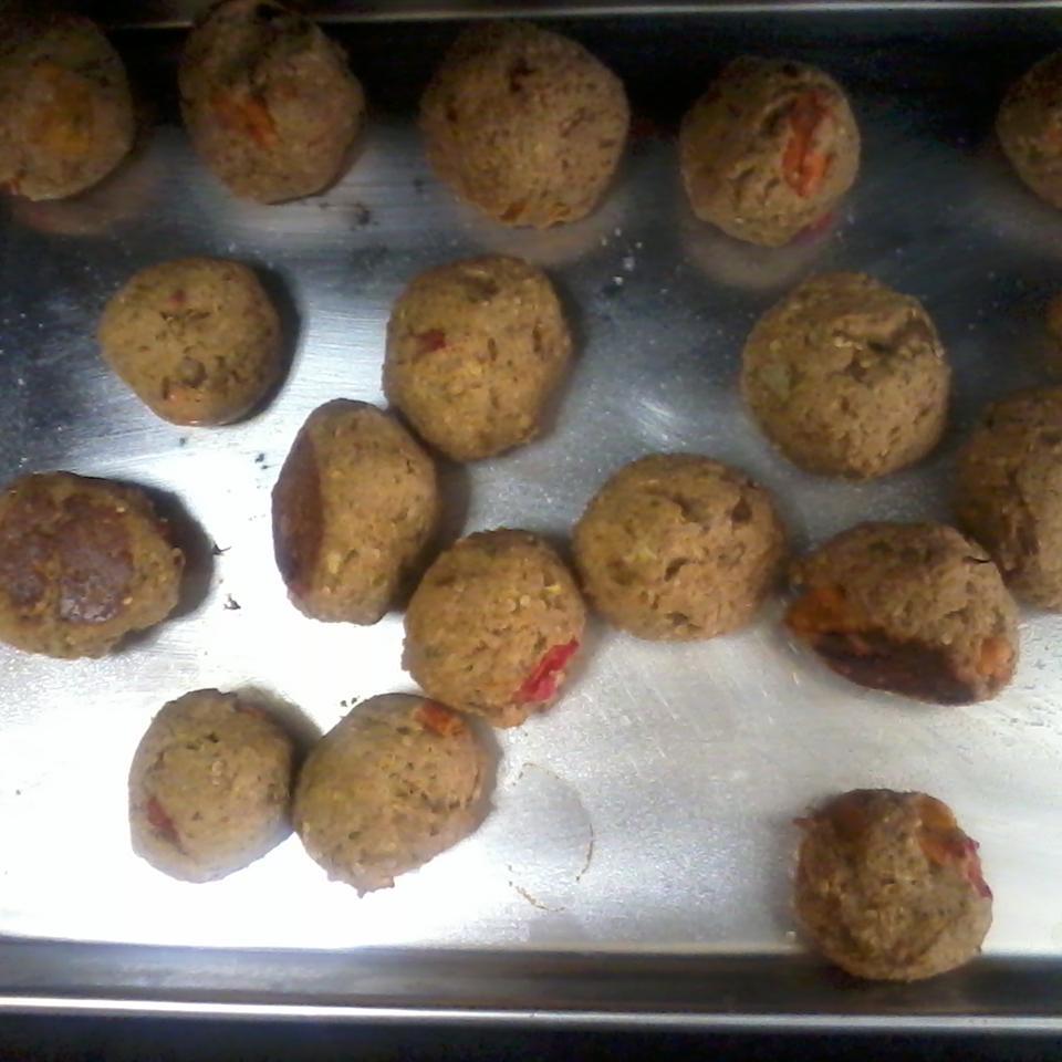 Aunt Mary's Eggplant Balls