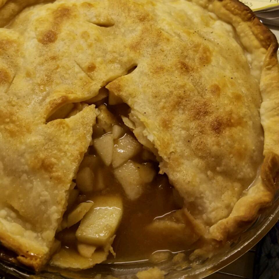 Spiced Pear & Apple Pie