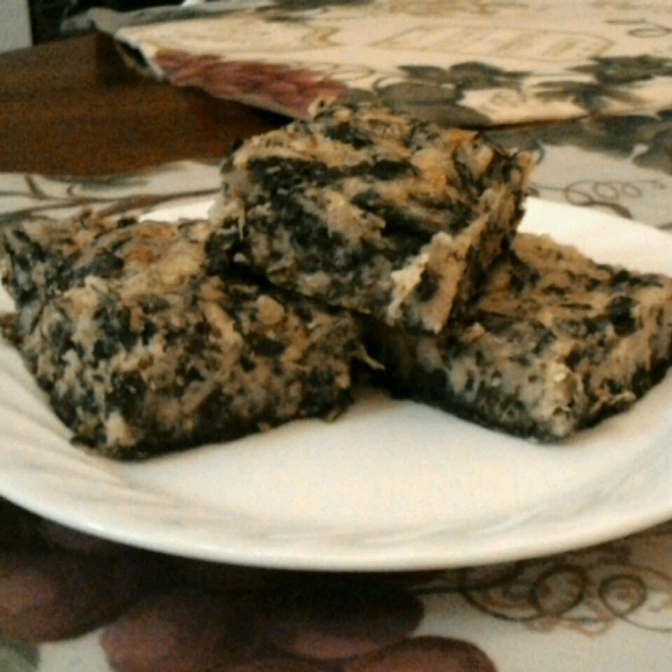 Spinach Brownies Khadija Hicklin-Muhammad