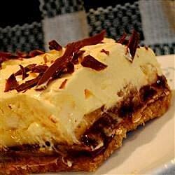 chocolate covered banana pie recipe