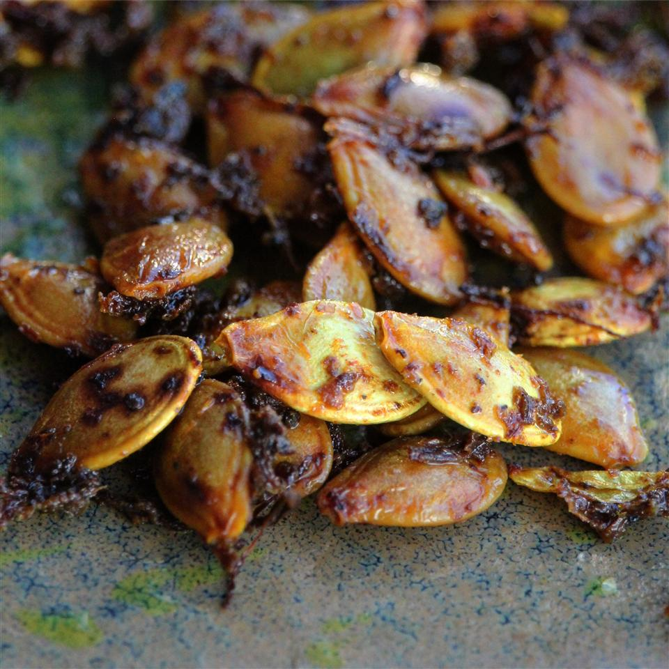 Seasoned Toasted Pumpkin Seeds