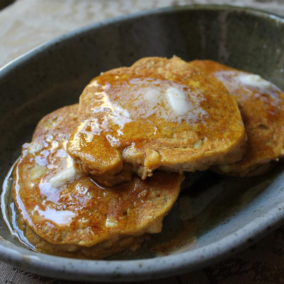Corny Pumpkin Pancakes