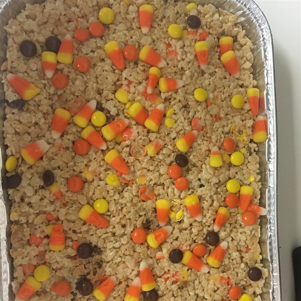 Crispy Rice Candy Corn Treats Melina
