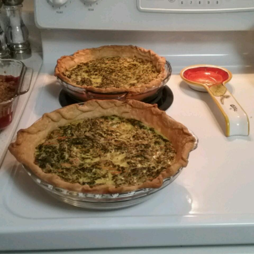 Spinach and Carrot Quiche nikmem2323
