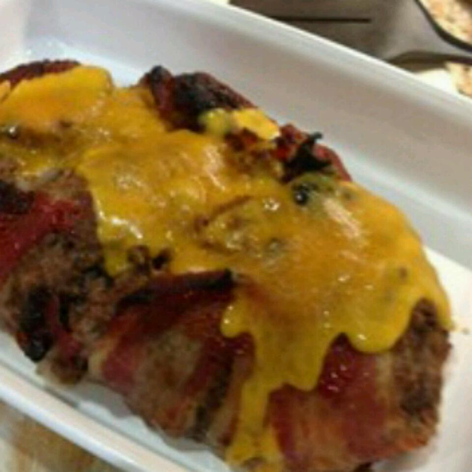 Dad's Cheesy Bacon Wrapped Meat Loaf Jonathan Pruner