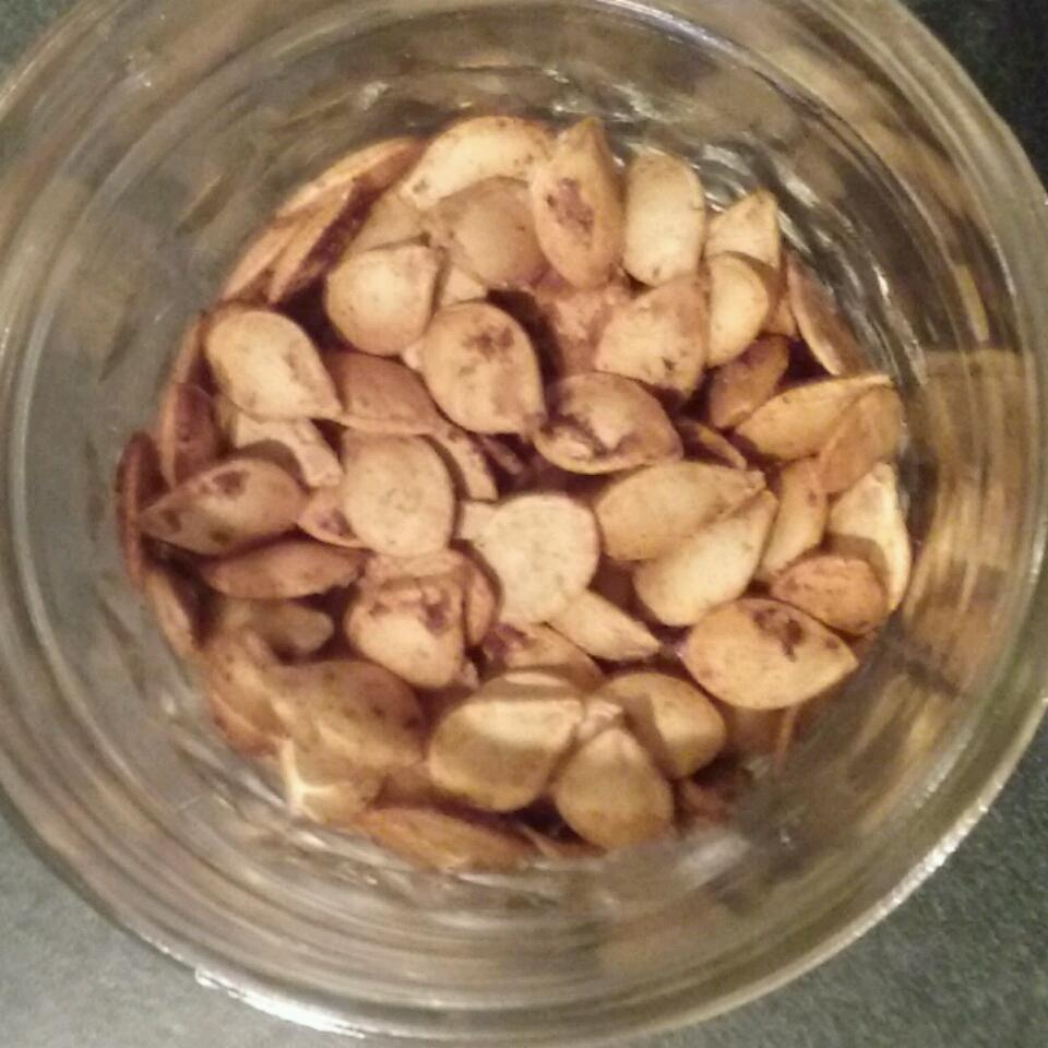 Mexican-Spiced Pumpkin Seeds deneepeyton