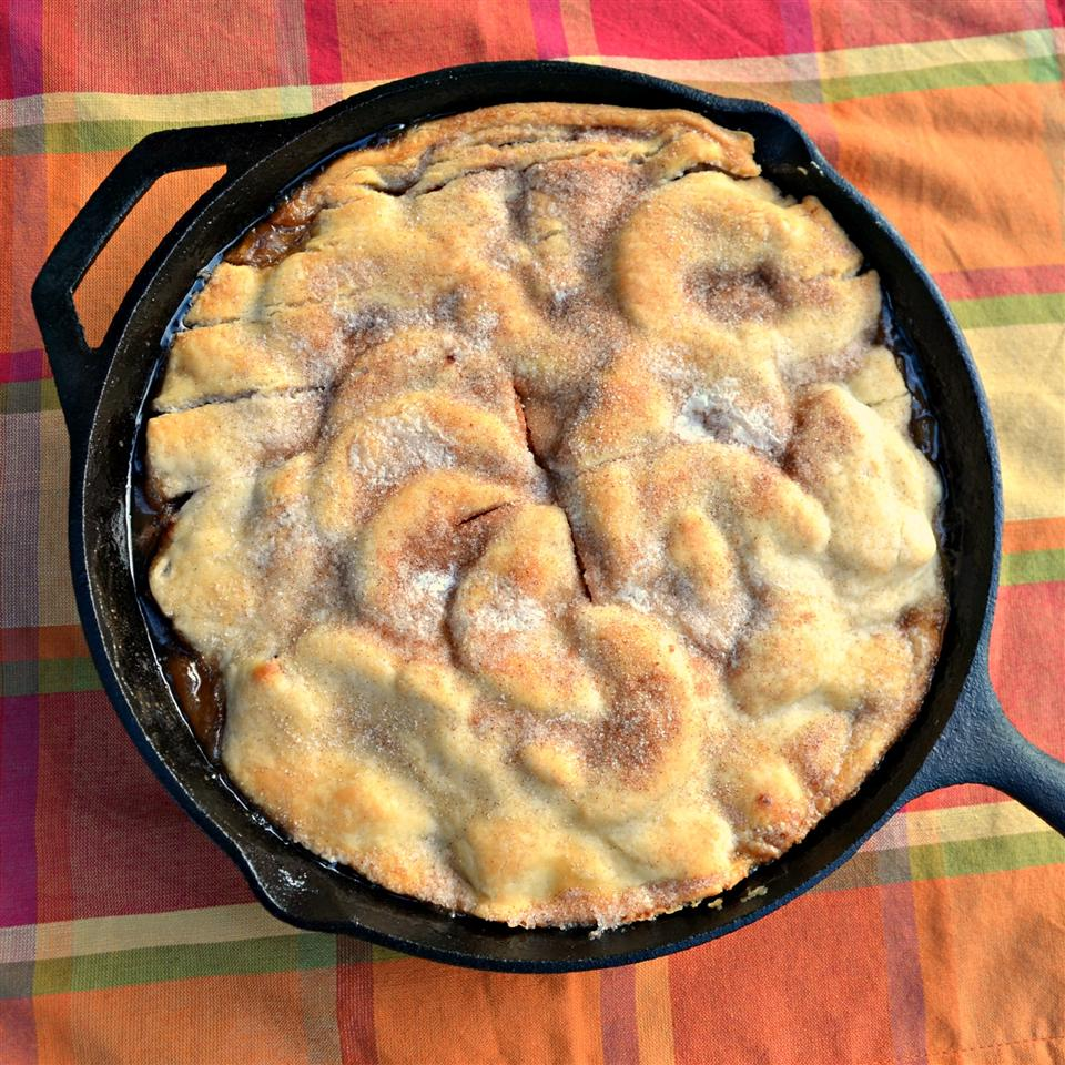 Grandma's Iron Skillet Apple Pie Kim's Cooking Now