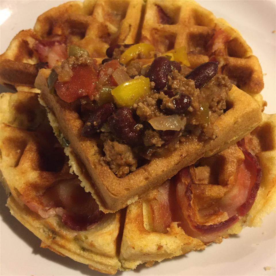 Cornbread Waffles Tearsa