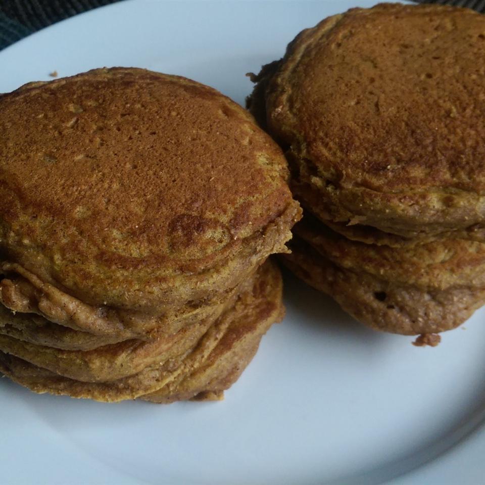Chef John's Pumpkin Pancakes Irene