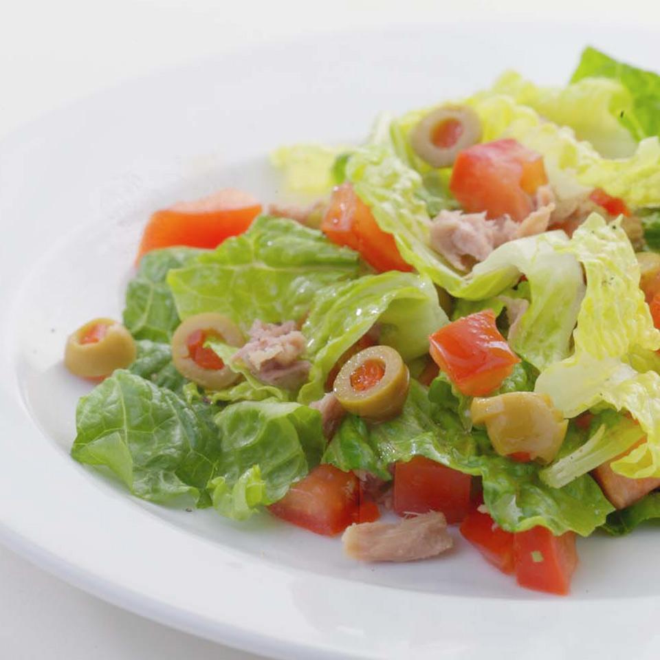 Chopped Salad al Tonno EatingWell Test Kitchen