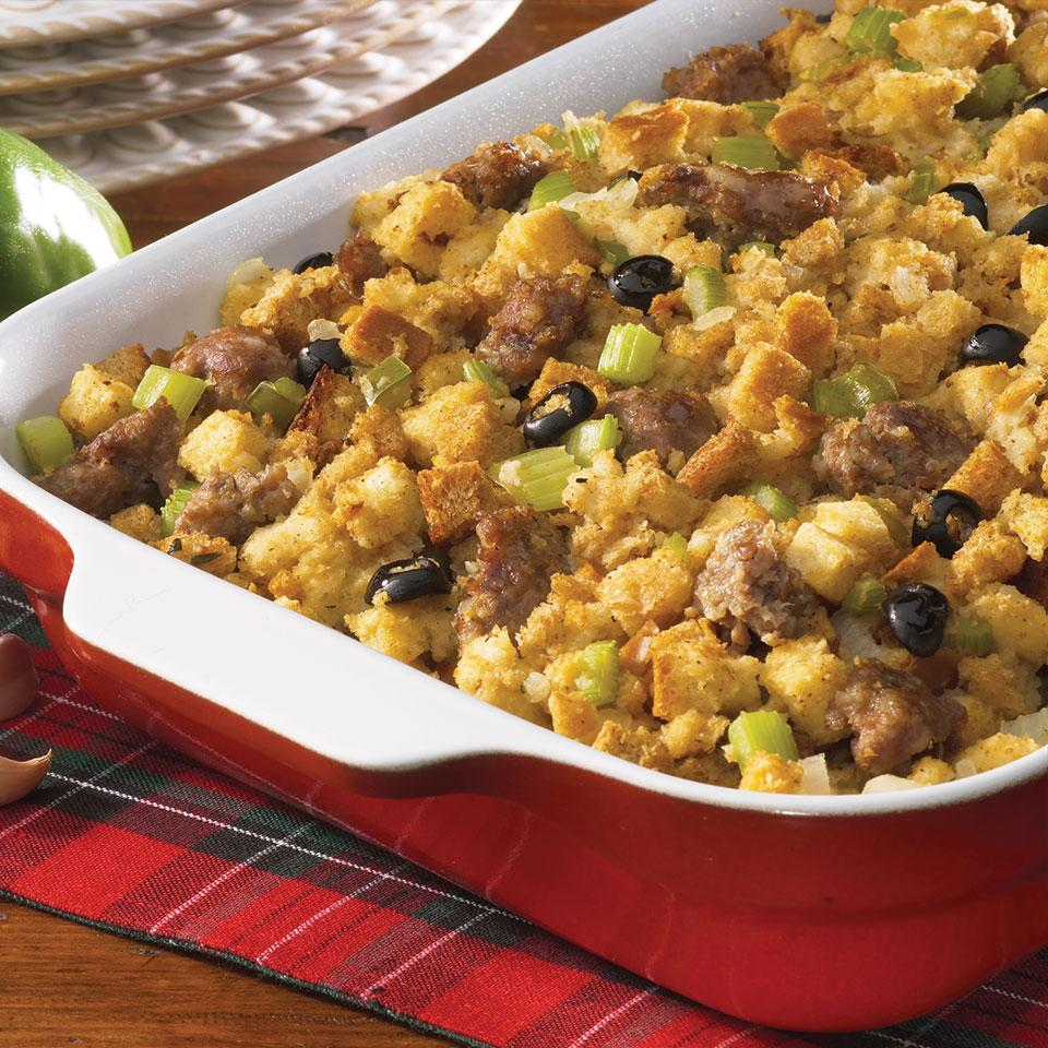 Italian Sausage Stuffing From the Kitchen at Johnsonville Sausage