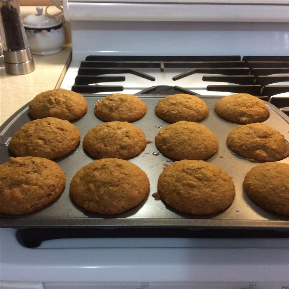 Pumpkin Wheat Honey Muffins