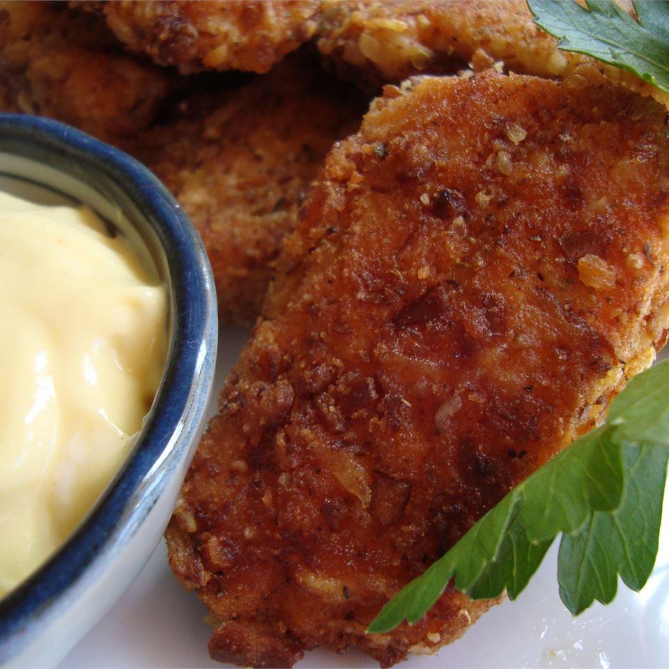 Isaiah's Pretzel Fried Chicken