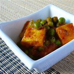 Indian Matar Paneer (Cottage Cheese and Peas) Diana Moutsopoulos