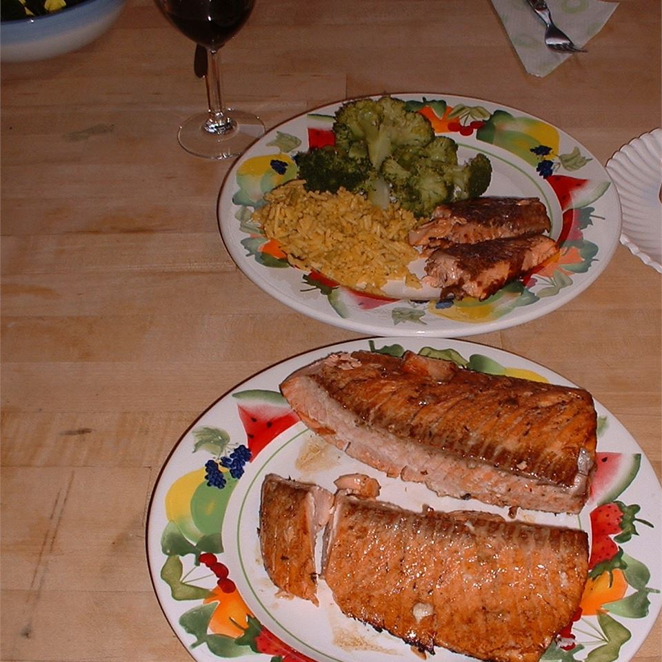 Salmon Marinade Dustin Hafer