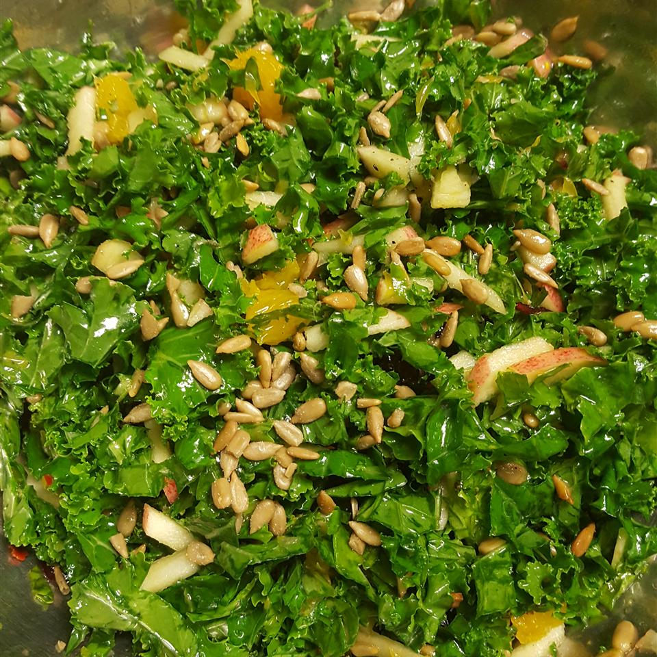 Chef John's Raw Kale Salad