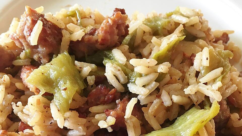Hatch Chile Dirty Rice
