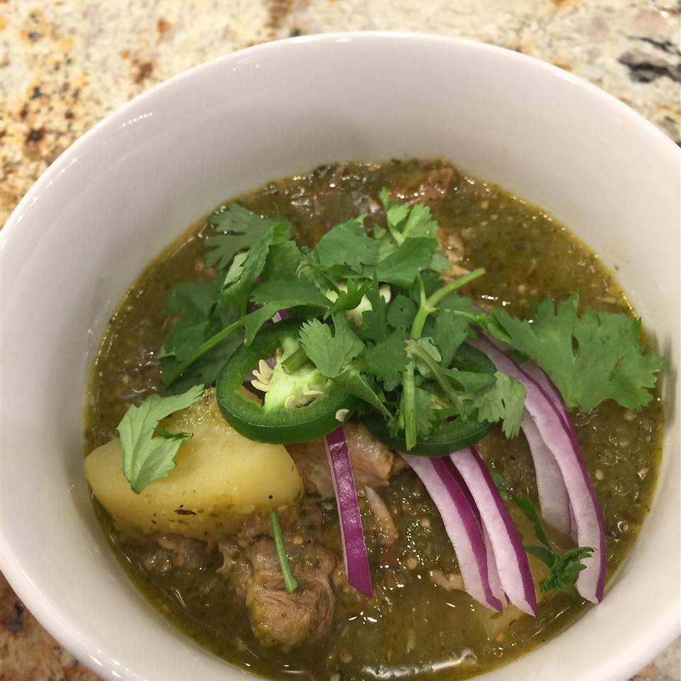 Pork Chili Verde (Green Pork Chili)